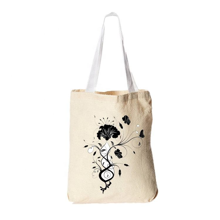 Reusable 생성 Bag Tote Shopping 식료품 도매 Canvas 친절. Natural 생태학 Organic Cotton Bag