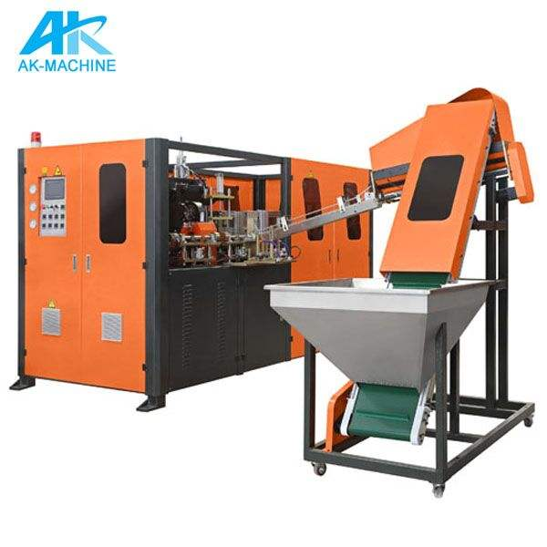 Great Full Automatic Blow Molding Machine / Plastic PET Bottle Blowing Machine Price / Small Plastic Bottle Making Machines