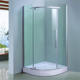 restricted height curved hinge glass shower enclosure suites near me