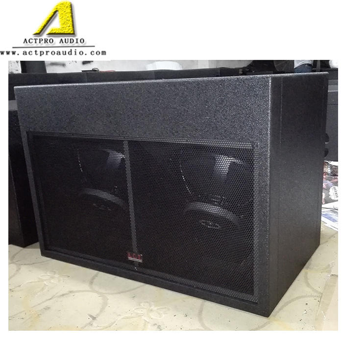 18 inch subwoofer pro active speaker system neodymium driver bass ACTPRO AUDIO outdoor sound