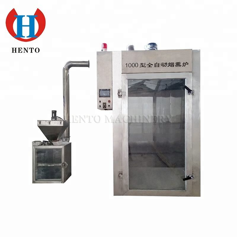 China Professional Supplier Meat Smoker / Electric Smoker / Industrial Fish Smoking Machine