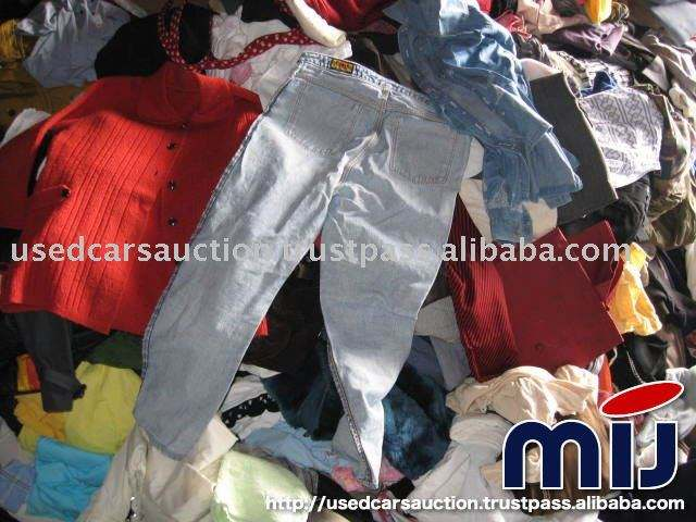 Mixed Used Clothes wholesaler used clothes from Japan