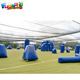 Popular inflatable paintball tactical bunkers shooting bunker games inflatable paintball bunker field