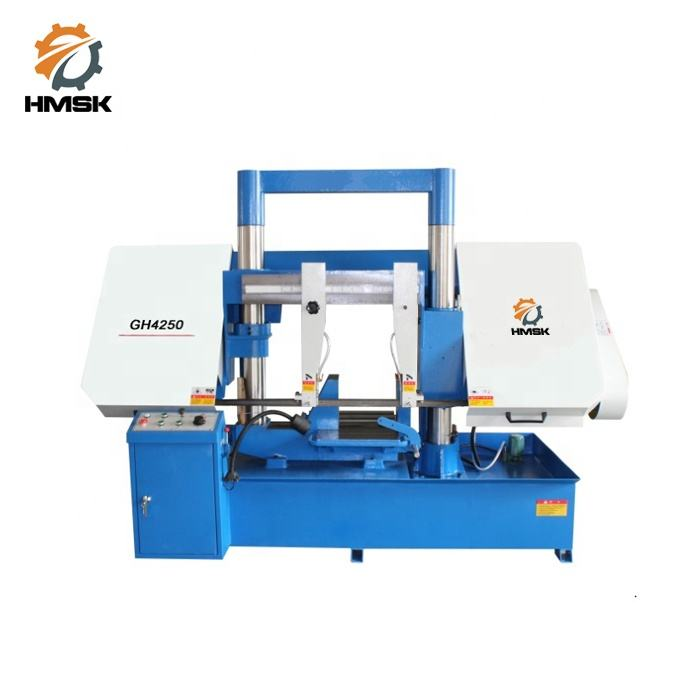GH4250 double column metal cutting band saw machine with CE
