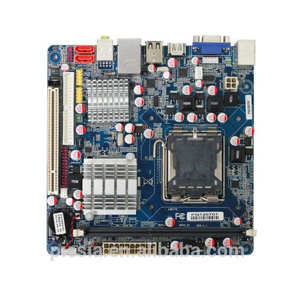 工業用マザーボードの製造元lga775ミニ- itxマザーボードm-itx-g41