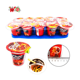 Hot sale chaozhou manufacturer chocolate biscuits cup chocolate