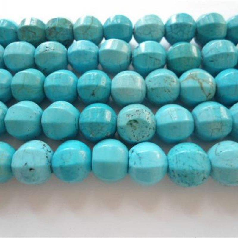 Starfish Bead Strands Approx 26 Per Strand Synthetic Turquoise. Multicolour