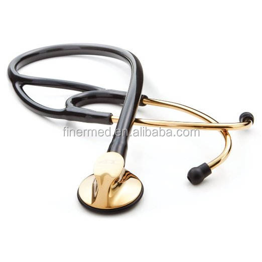 Gold Plated Cardiology Stethoscope