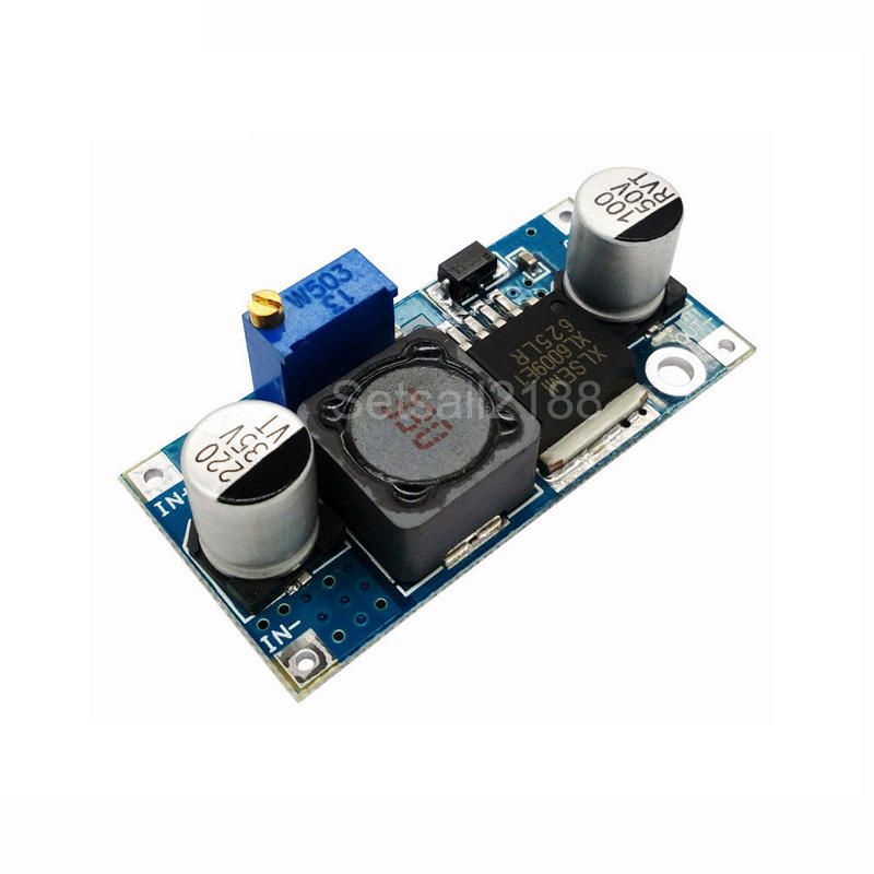 XL6009 4A DC-DC Adjustable Step up boost Power Converter Module 3-32V to 5-35V 4A