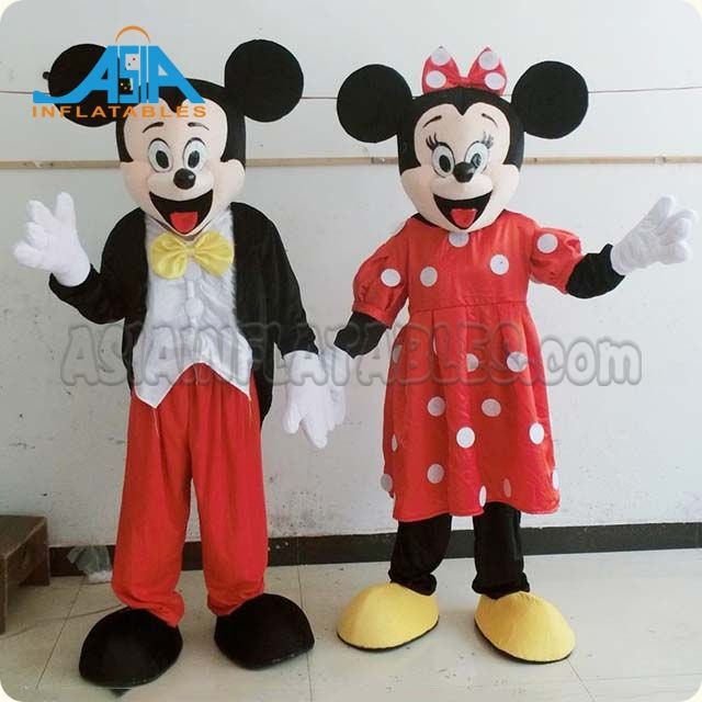 Wholesale promotional cute mouse animal mascot costumes for kids fashion cosplay costume