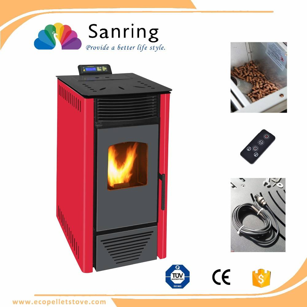 Innovation design/secondary combustion cast iron 8KW wood pellet fire stove