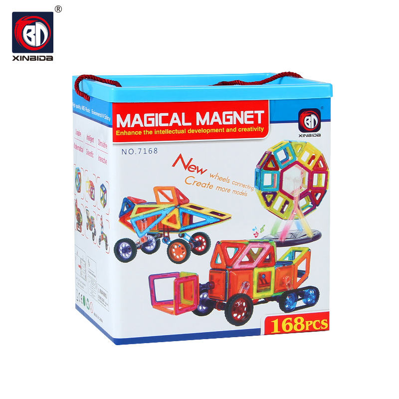 Kids Early Learning DIY Magnetic Building Blocks Educational Toy