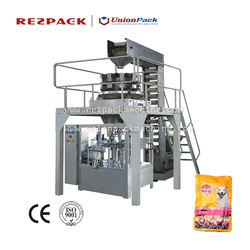 animal pet dog food pellet packing machine production line