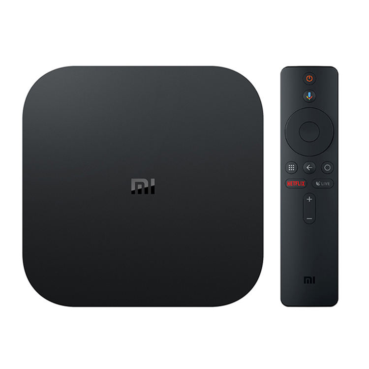 Original Global Version Xiaomi Mi Box S 4 Android 8.1 2GB RAM 8GB ROM 4K QuadCore Smart TV Box