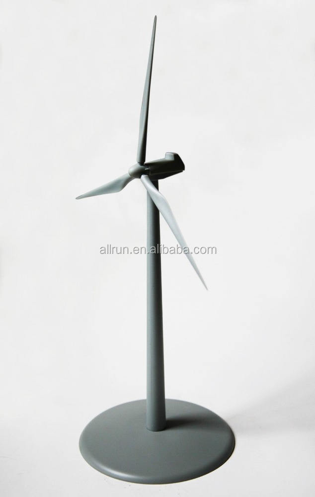 Solar Plastic Windmill With 3 Blades
