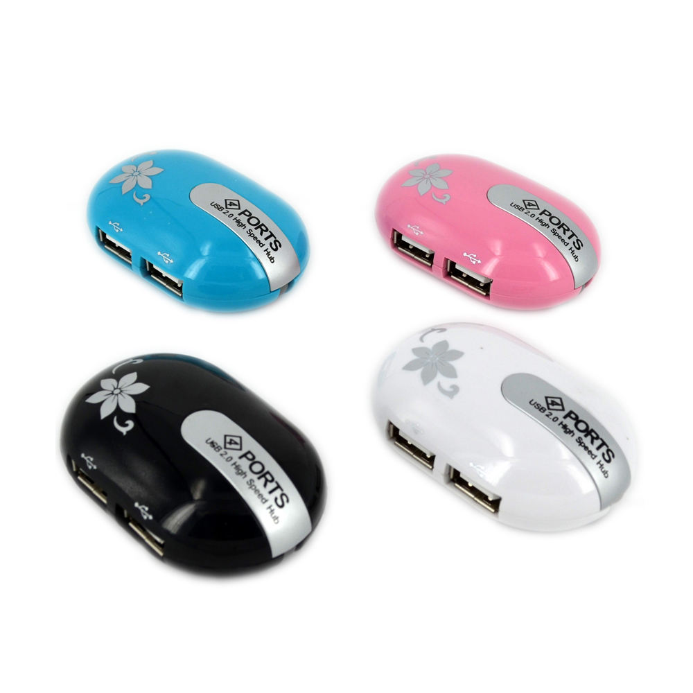 MZ-011 2.4GHz 1600DPI Wireless Rechargeable Optical Mouse with HUB Function Durable Color : Blue