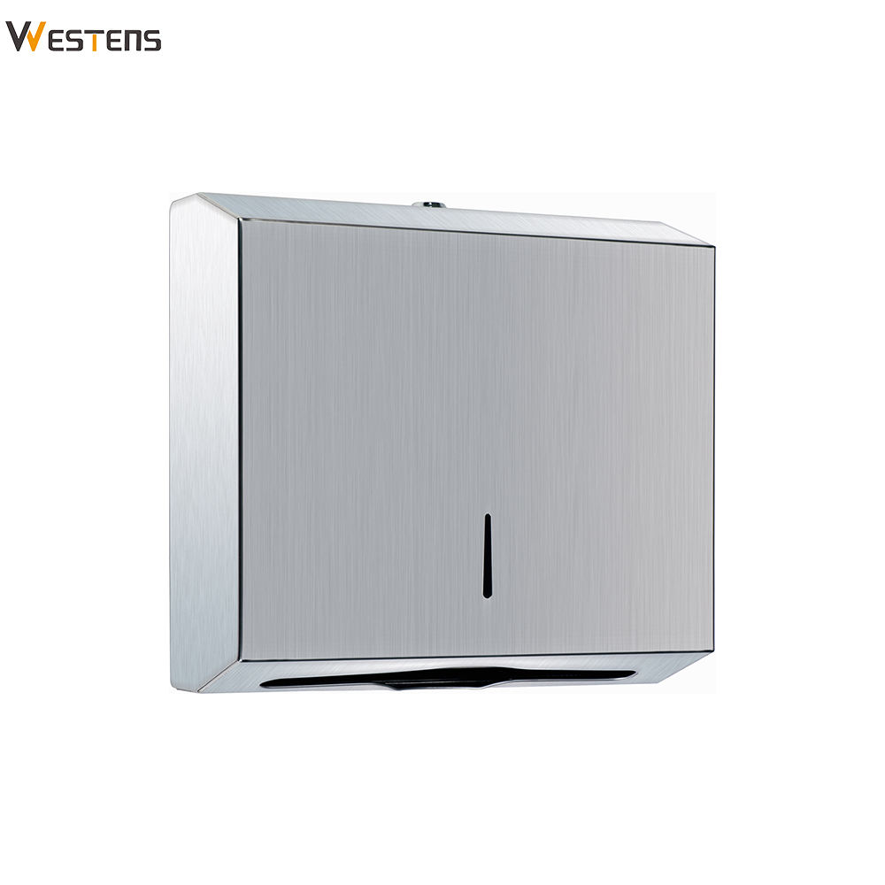 N Folded Kitchen Metal Sanitary Paper Napkin Dispenser
