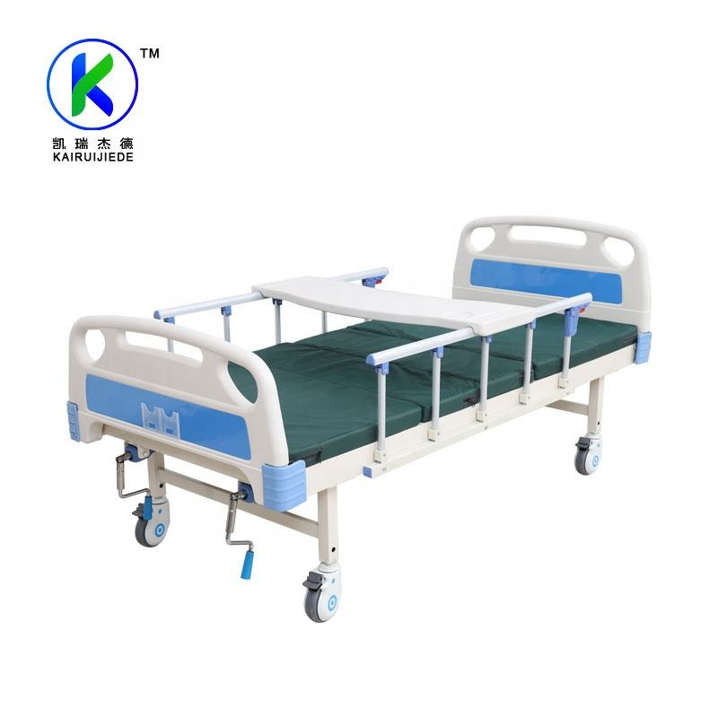 Good Quality hot sale Factory Price Manual 2 Cranks Medical Hospital Bed