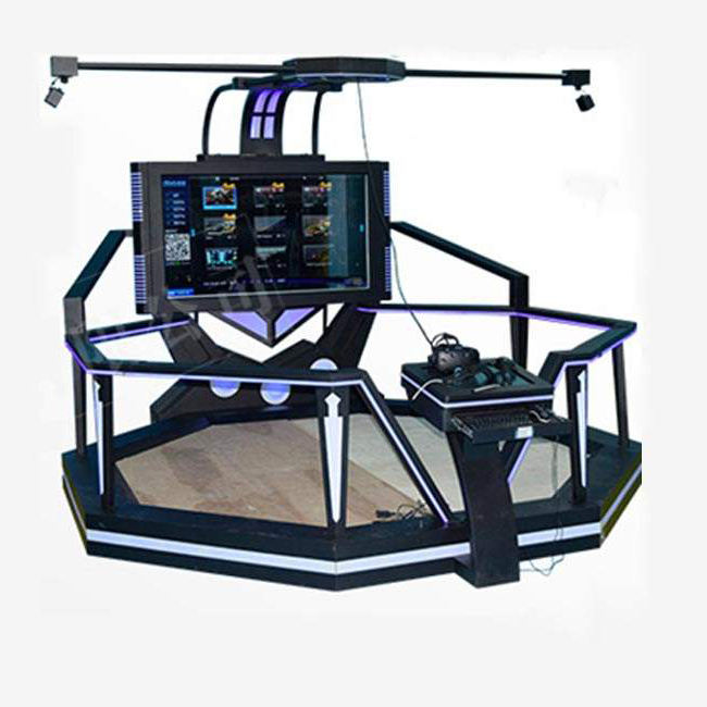 Yonee top kwaliteit amusement pistool <span class=keywords><strong>schieten</strong></span> simulator apparatuur vr dreamaker loopband game machine