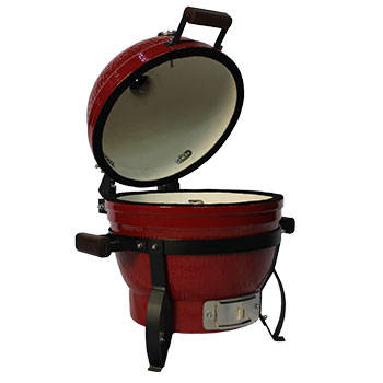 BBQ grill outdoor style,barbecue stone kamado grill ,hibachi bbq cast iron with bamboo shelf.