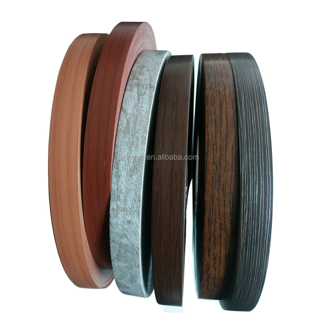 Factory Sales Low Price Waterproof Wood Grain PVC Edge Banding