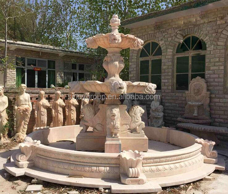 Garden Stone Natural Stone Garden Water Fountains