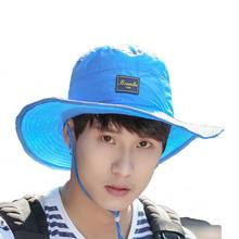 summer direct factory outdoor sun protection neck face flap movable boonie hat custom made polyester fishing hiking bucket hat