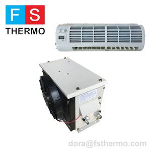 DC 24 V solar powered รถบรรทุก cab air conditioner split air conditioner