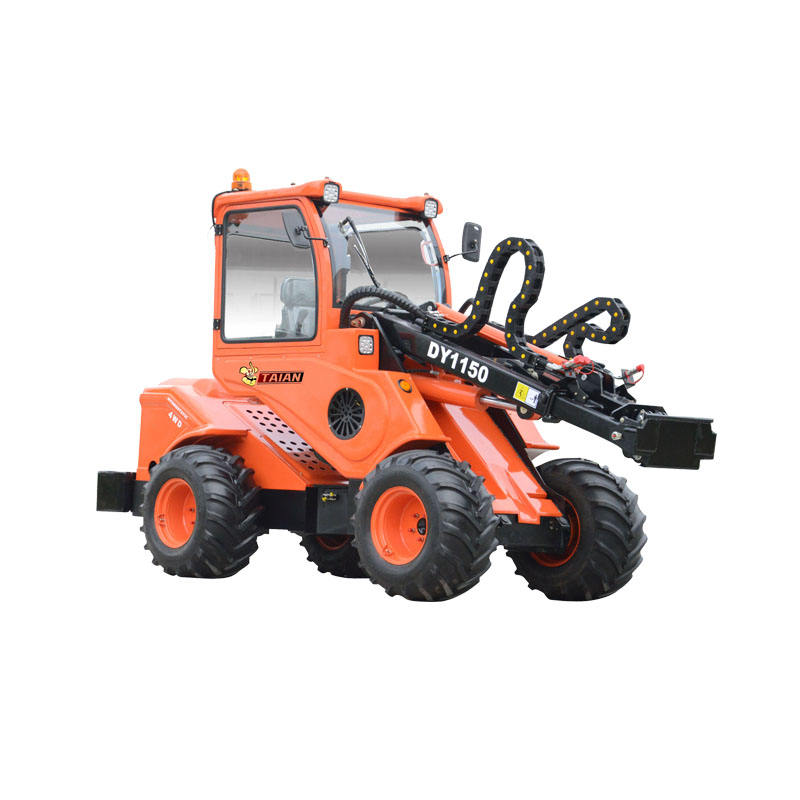 DY1150 Mini farm tractor with front end loader for sale
