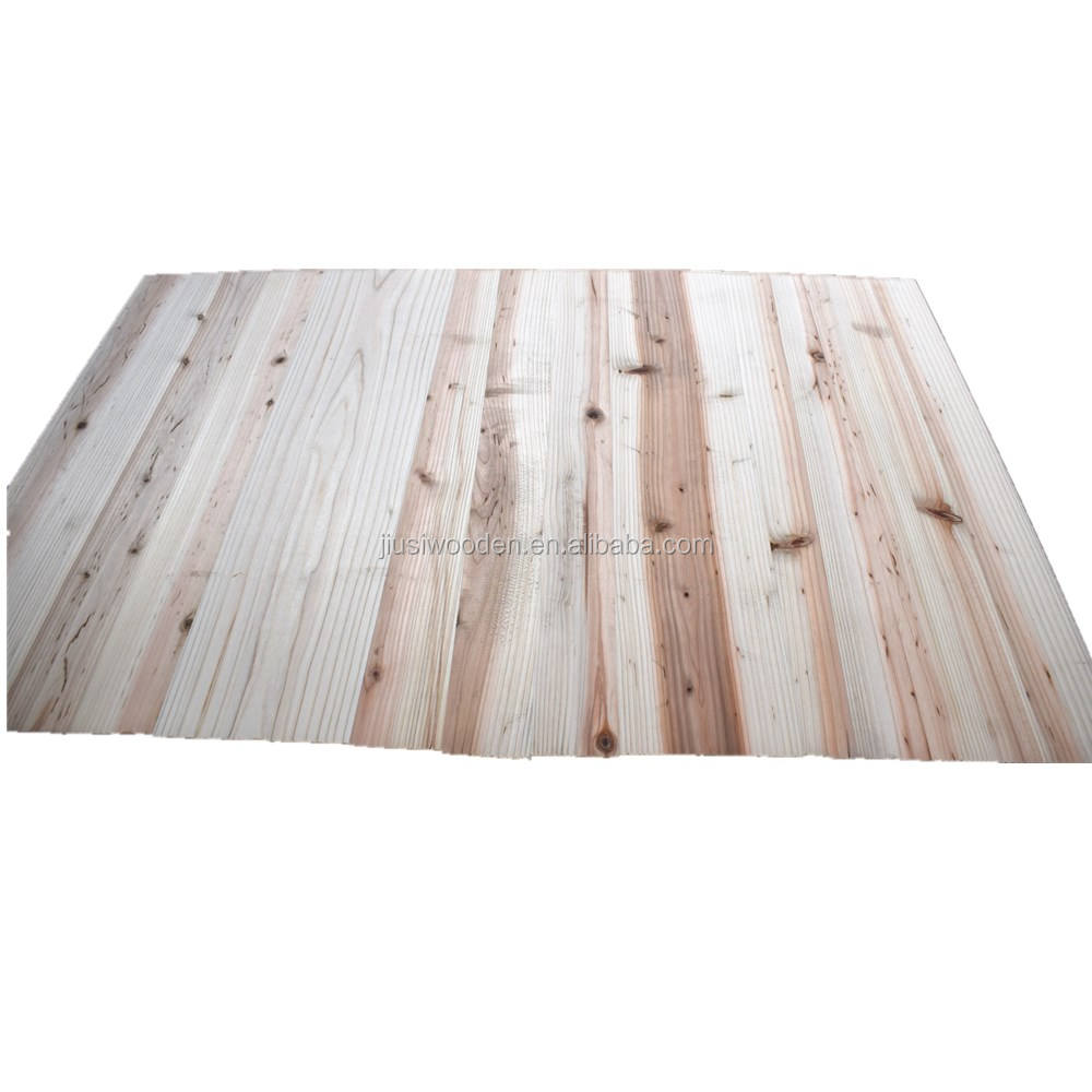 China fir wood board Solid wood board wooden edge glued board from factory