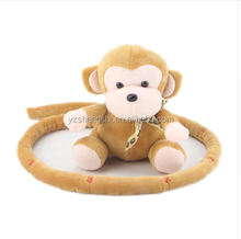 Factory wholesale OEM & ODM high quality plush monkey stuffed toys with love plush monkey toy height chart