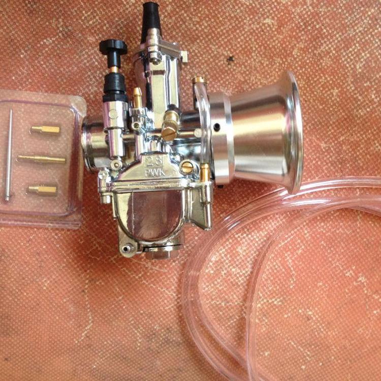 Motorcycle Carburetor 28mm Racing Flat Side for PWK 28 Carb