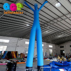 Competitive Price Outdoor Promotion Activity Inflatable Double Legs Air Dancer for advertising