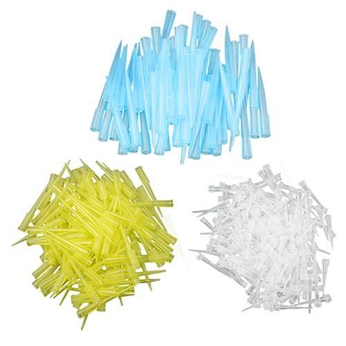 Universal 10ul 200ul 300ul 1000ul 1250ul color blue yellow white pipette tips