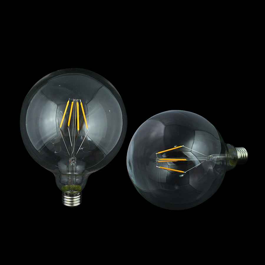 Best Selling Wholesale Vintage Retro 2W 4W 6W 8W LED G125 Decorative Globe Led Filament Bulb