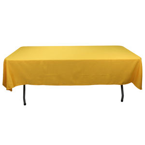 Rectangle Tablecloth - 60 x 102 Inch Rectangular Table Cloth for 6 Foot Table in Washable Polyester White