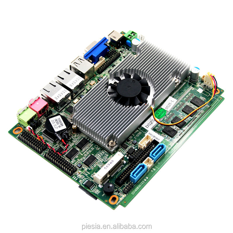 D525 prozessor <span class=keywords><strong>Motherboard</strong></span> Onboard 2GB DDR3 speicher 1 * SO-DIMM buchse DDR3 für Auto PC
