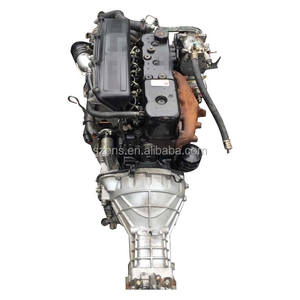 Japan used car auto 4JB1diesel engine and gearbox sale