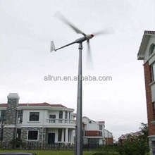 Complete unit 110V 220V Single phase wind turbine generator 10KW 5KW 3KW with permanent magnet generator