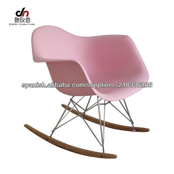 eames silla plástico silla DAW eames mecedora