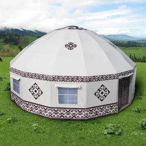 luxury Inflatable Yurt tent for outdoor family house