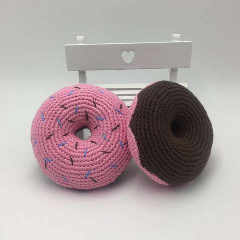 How to Crochet Amigurumi Donut - Free Pattern | Croby Patterns | 480x480