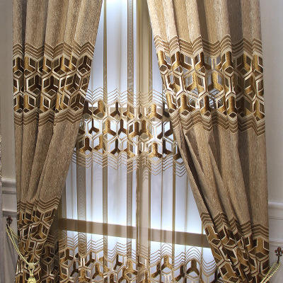 Wholesale Goods Embroidered Curtain Cloth,Amazon Top Seller 2019 Living Room Sets Church Curtain%