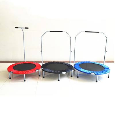 Baby first trampoline in house square bungee เตียง