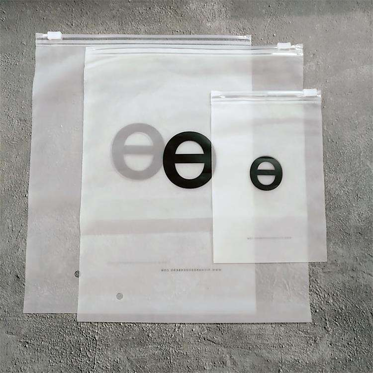 Whole custom zip lock bags ,with logo clothing packaging PE bag printed tshirt plastic poly bag