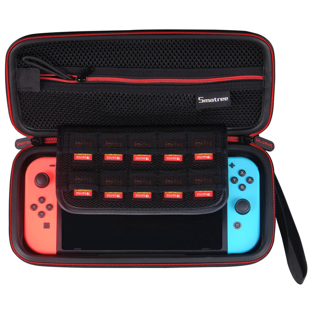 Smatree EVA Protective Hard Case Carrying Bag for Nintendo Switch