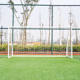MOZURU Portable Competition Soccer Goal Steel Backyard Soccer Goal with All Weather Net