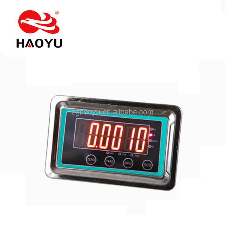 The best seller bigger display with high precision load cell digital weighing platform scale indicator