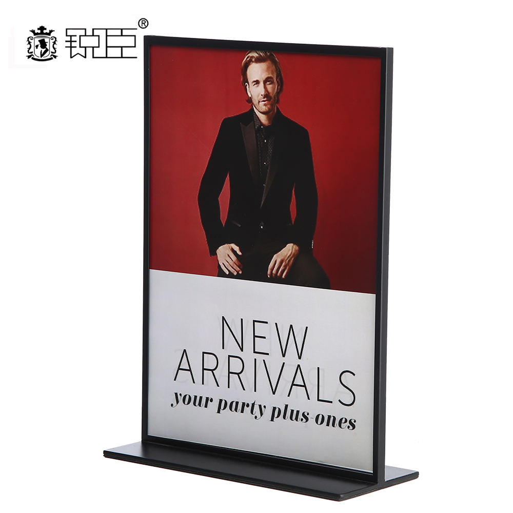 Wholesale Tabletop A4 display stand poster sign holder