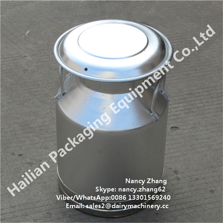 High Strength Aluminium Milk Can with Mushroom Lid